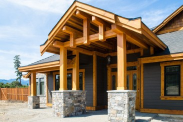 Residential Timber Frame - Rivers Edge